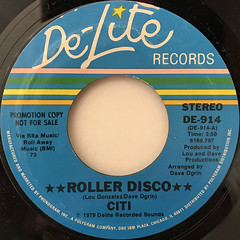 CITI:ROLLER DISCO(LABEL SIDE-A)
