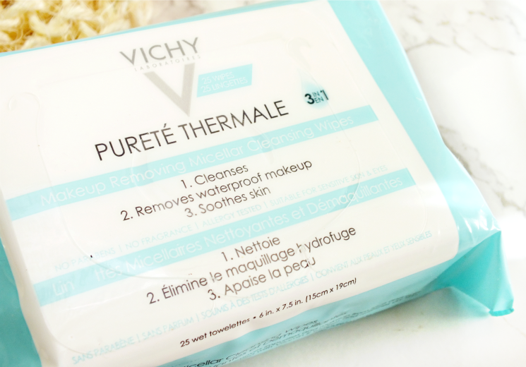 vichy purete thermale makeup removing micellar wipes  (2)