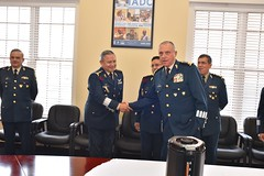 Mexican Secretary of National Defense, Division General Salvador Cienfuegos Zepeda visits the IADC, Nov 9, 2017