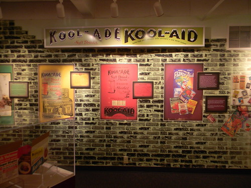 Kool-Aid Exhibit at the Hastings Museum. From Seven Quirky Nebraska Detours