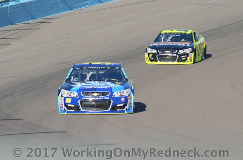 Michael McDowell and Paul Menard