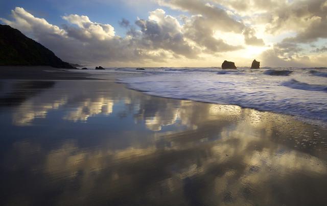 Orick Beach, Redwood National Park, Humboldt County, CA, January 2 2016