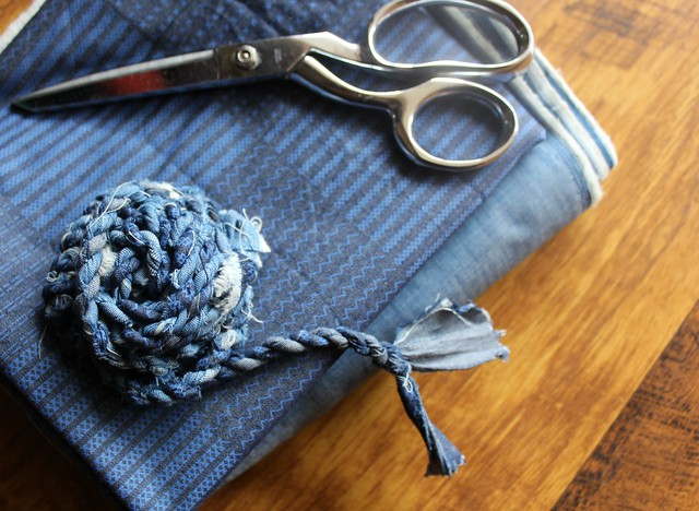 Making Denim Twine