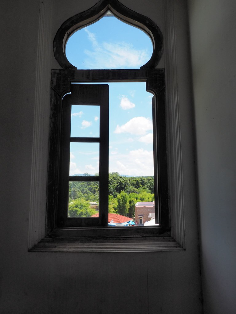 A window in the castle