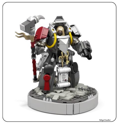 Grey Knights Librarian - Terminator armor