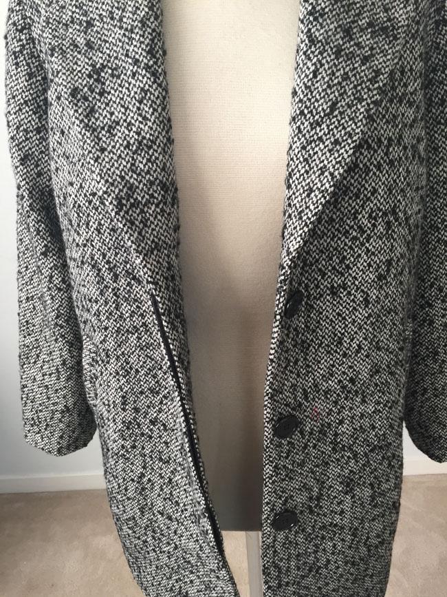 bamboo coat hidden buttonhole placket2