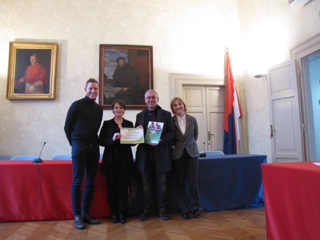 Il Comune di Castel Bolognese vince l'Humana eco-solidarity award 2017