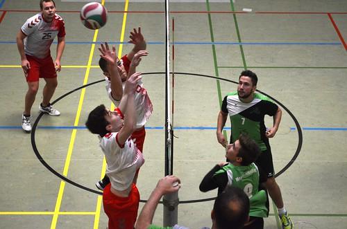 Rot Weiß Röttgen Volleys Bonn II 1:3 Meckenheimer SV III