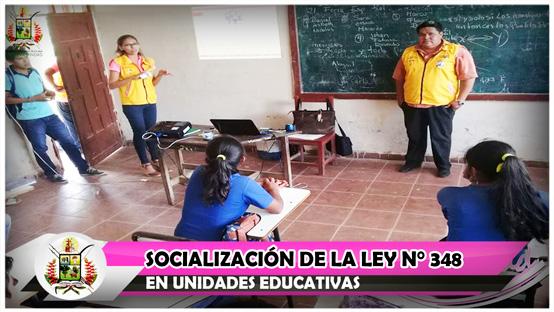 socializacion-de-la-ley-n-348-en-unidades-educativas