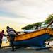 Preparativo dos pescadores