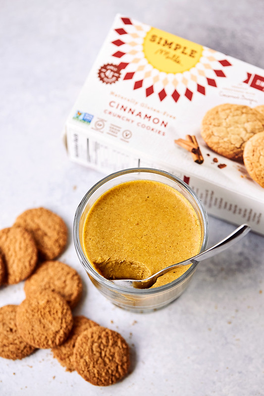 Paleo Pumpkin Panna Cotta with Cinnamon Cookie Crumble and Caramel Drizzle