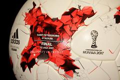 KRASAVA FIFA CONFEDERATIONS CUP RUSSIA 2017 FINAL ADIDAS MATCH BALL, GERMANY VS CHILE 10