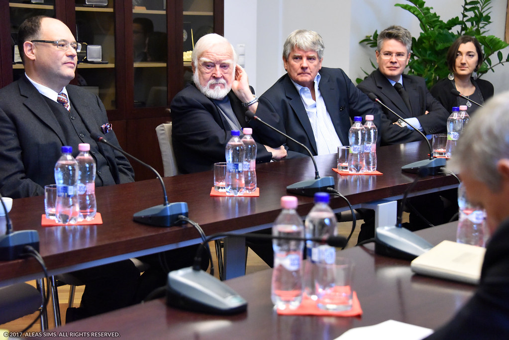 <p>With the ALEAS management (Zoltan Buzady - Research Director, Zoltan Vecsey - Founder, Zad Vecsey - CEO, Judit Nuszpl - Program Development Director)</p>