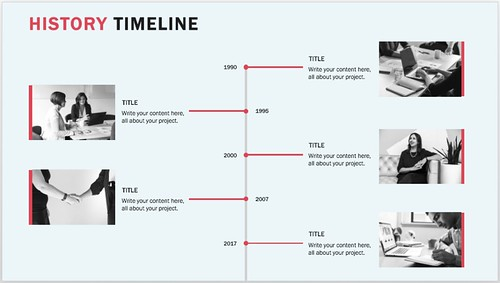 15+ best timeline templates | free | editable | custom designs, Powerpoint templates