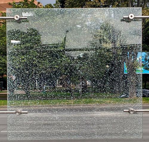 Glass Spider Web