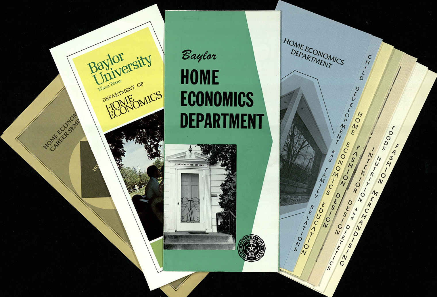 BU Home Economics Department Pamphlets