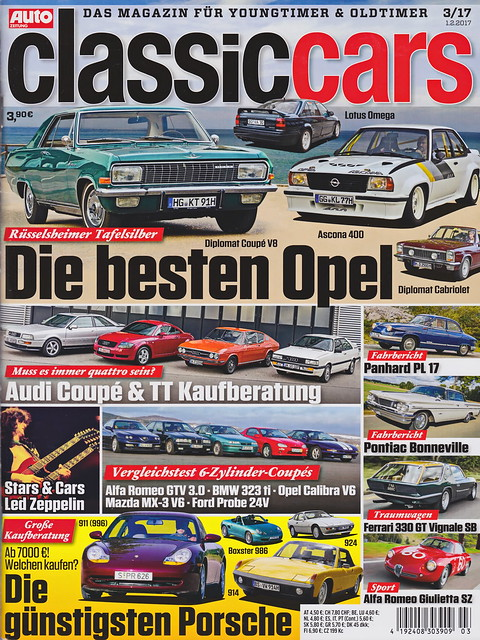 Auto Zeitung - Classic Cars 3/2017