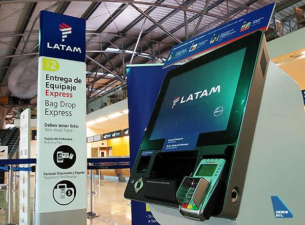 LATAM kioscos de autofacturación y bag tag (RD)