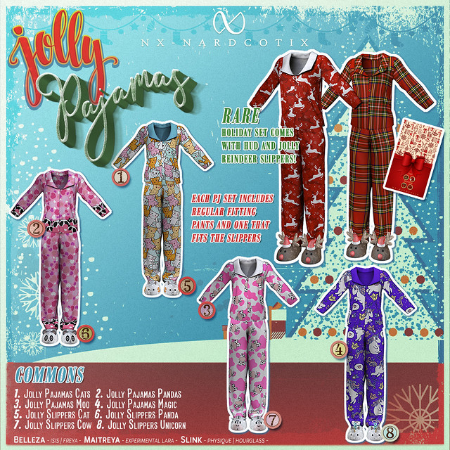 NX-Nardcotix Jolly Pajamas for Pocketgacha