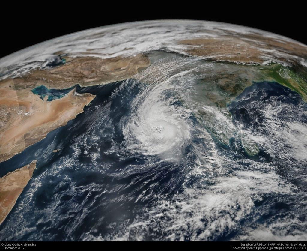 Cyclone Ockhi 2017 12 03