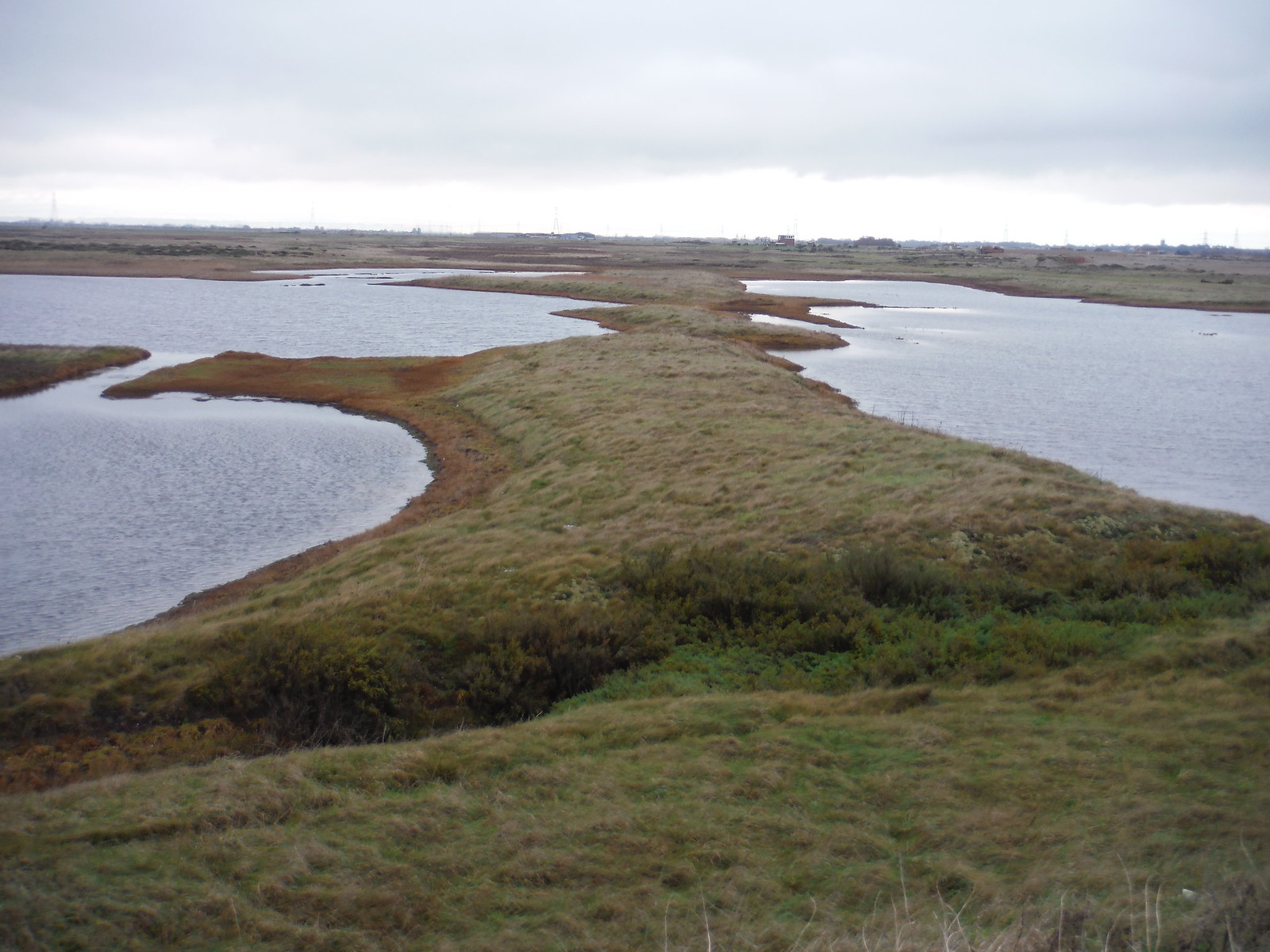 Water-Filled Pits, Lydd Ranges SWC 154 - Rye to Dungeness and Lydd-on-Sea or Lydd or Circular