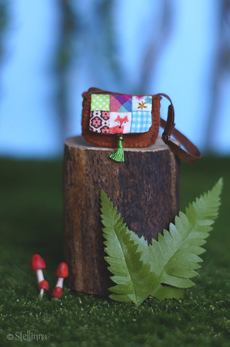 Forest Folklore, Patchwork Purse
