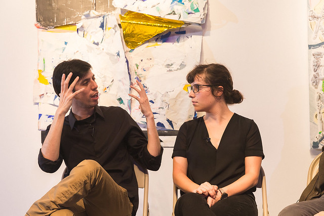 RU/Liquitex Talk: Kristy Hughes and Daniel Mantilla in conversation with Thomas Micchelli and Jennifer Samet