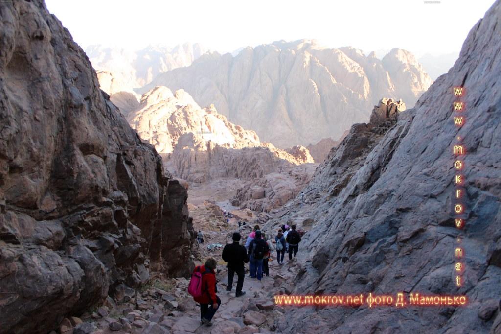 Синайские горы — Египт прогулки туристов