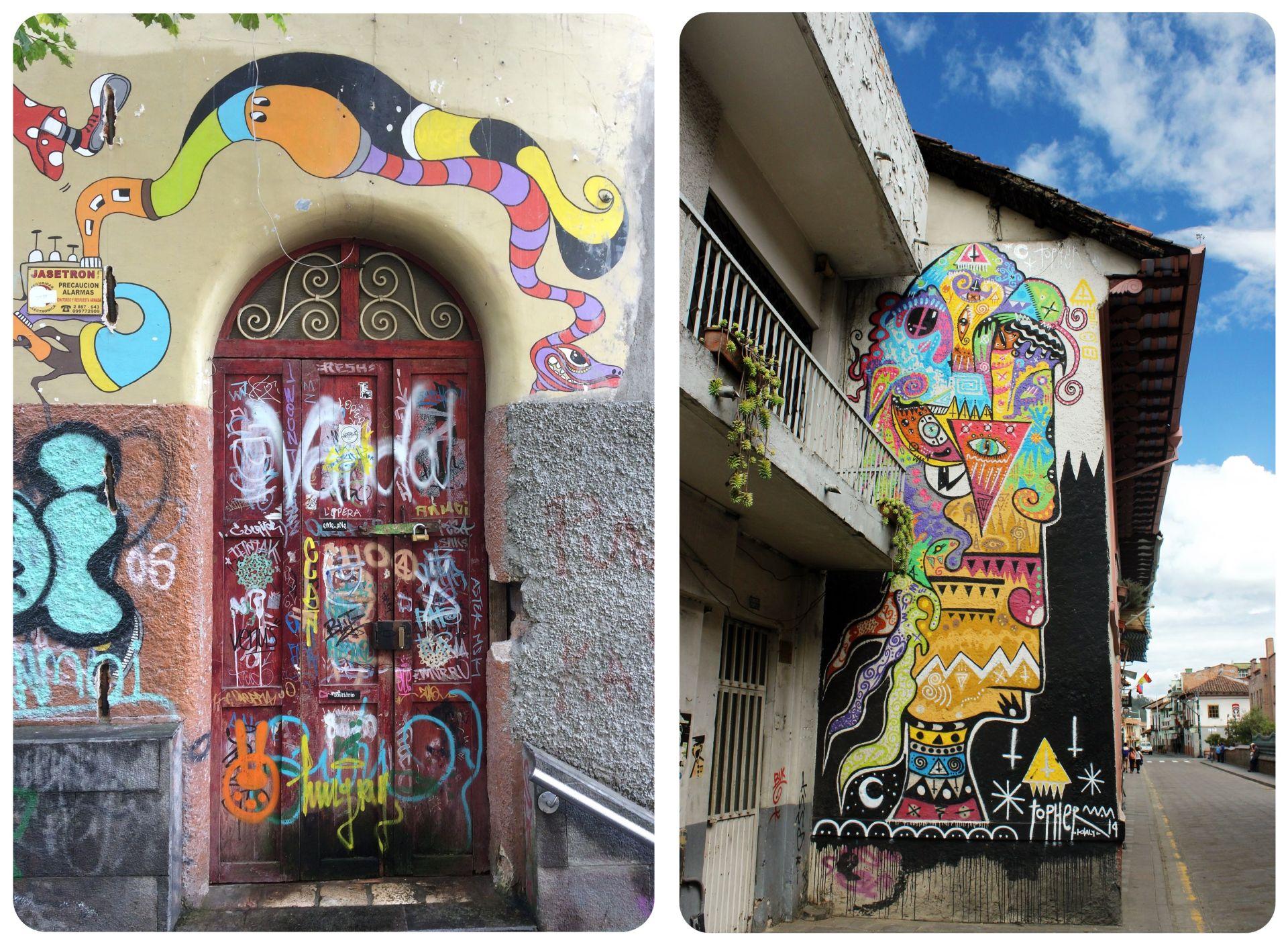 Cuenca Street art Ecuador