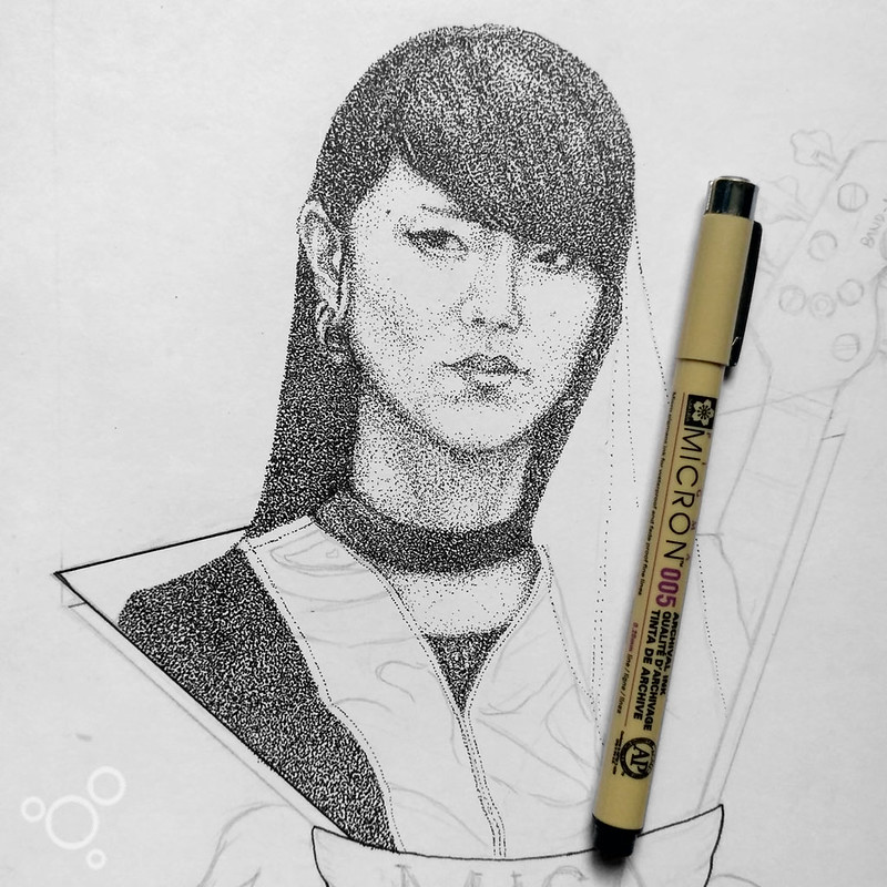 MISA BAND-MAID - FAN ART WIP