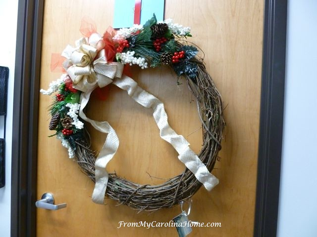 Festival of Wreaths at From My Carolina Home