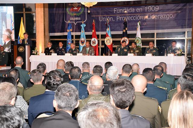 Clausura Curso de Altos Estudios Militares CAEM - Curso Integral de Defensa Nacional CIDENAL 2017