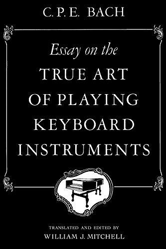 Unlimited Ebook Essay on the True Art of Playing Keyboard Instruments - For Ipad - By #A#