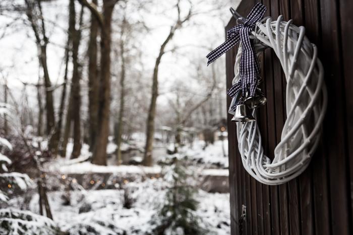 strömforsin ruukin joulu 2017 ruukki ruotsinpyhtää ovikoriste wanha navetta