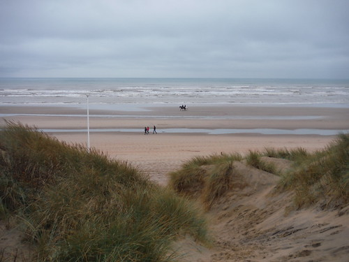 The Sea through Sand Dunes in Camber