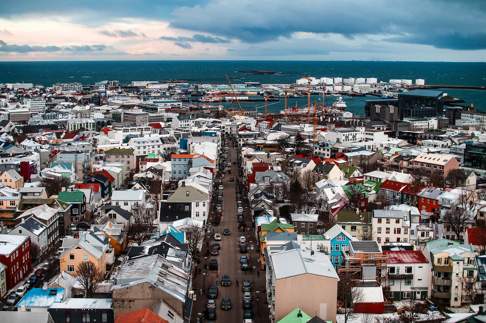 Hallgrímskirkja Church Reykjavik Iceland travel lifestyle blogger UK The Little Things