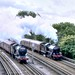 Steam on the Met Year 2000 - Peter Brabham collection.