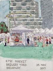 Etsy market, Broadway Sydney