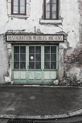 Restaurateur rue des Lombards - Désertification - Photo of Navilly