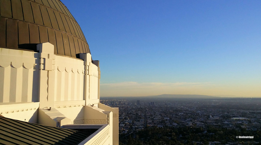 Griffith Observatory, Los Angeles, Kalifornia, USA