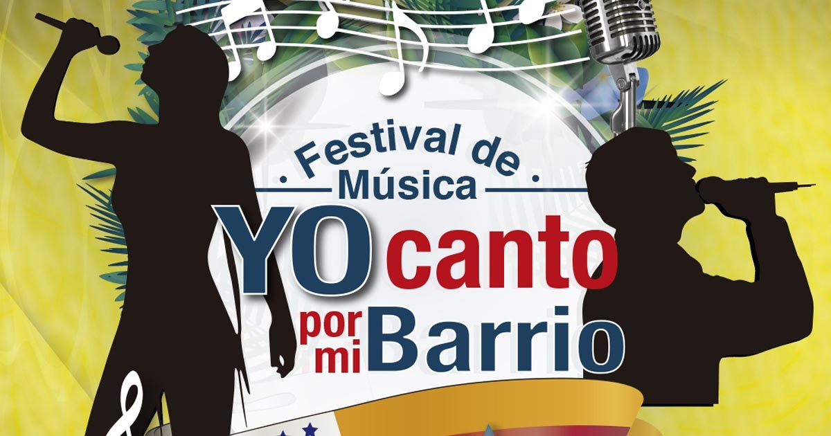 Gran final de Yo canto por mi Barrio, este viernes