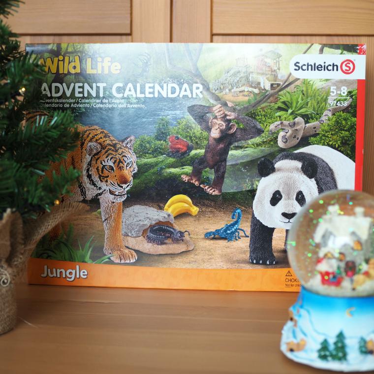 Schleich joulukalenteri arvonta blogi
