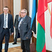 Small photo of FM Sven Mikser and MP Aadu Must.