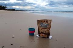 Proud Mary coffee on Belongil Beach