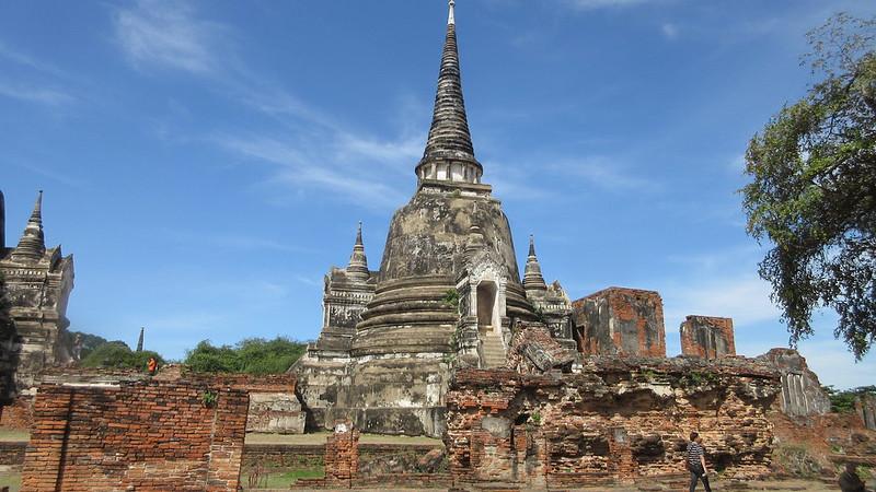 Ayutthaya Historical Park Thailand