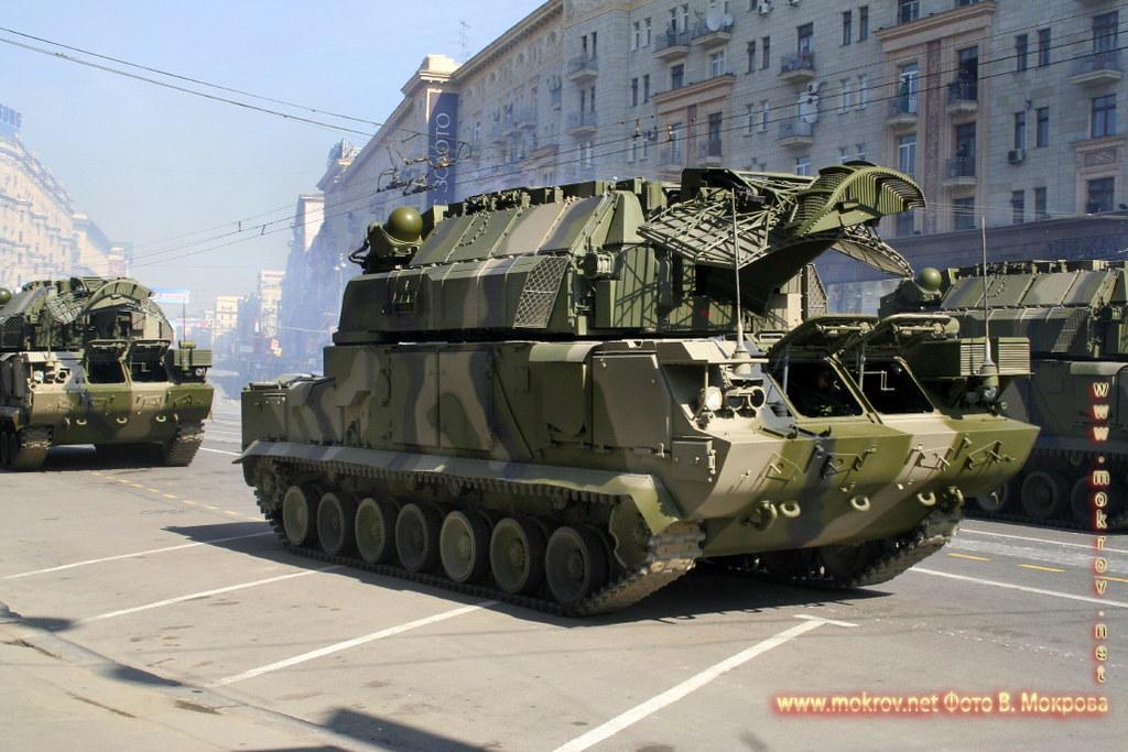 Военный парад 9 мая 2008 г. в Москве