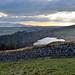 Hadrian's Wall at Crag Loch, Northumberland