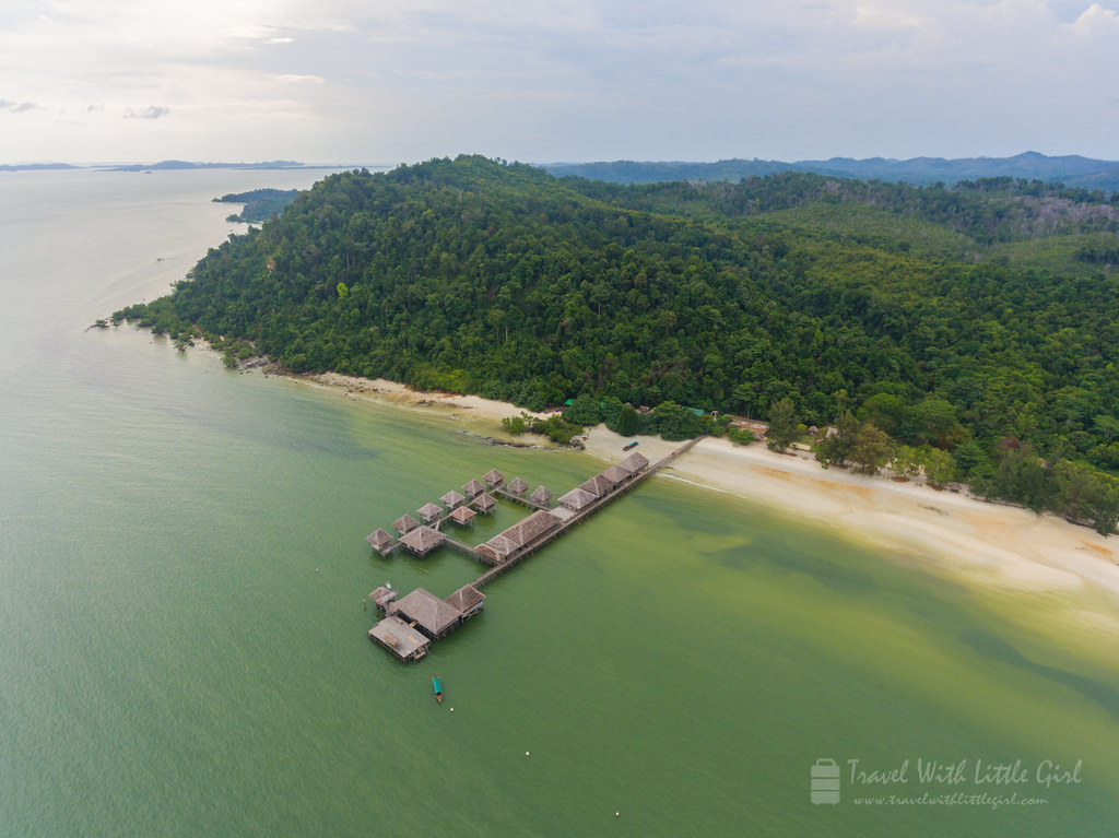 Telunas Beach Resort, Taken via Phantom 4