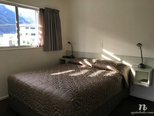 Review khách sạn Blue Peaks Lodge ở Queenstown, New Zealand