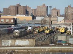 NYCT work equipment, 207 Street Yard